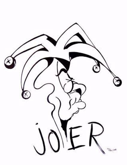 The Joker BW